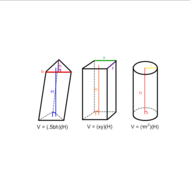 Volume of Prisms and Cylinders