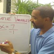 Negative Variable