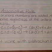 The Associative Rule