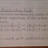 The Associative Rule