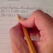 Simplifying an Equation
