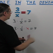 Variable in the Denominator