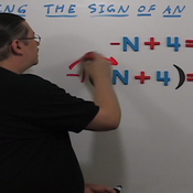 Changing the Sign of an Equation