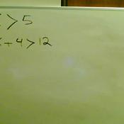 Solving an Algebraic Inequality