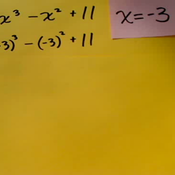Plugging Values in Polynomials