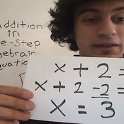 Solving Addition Equations