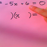Basic Quadratic Factoring