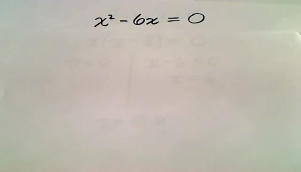 Quadratics with no Constant