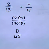 Algebraic Fraction Multiplication and Division