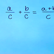 Addition Property of Rational Expressions