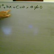 Introduction to Quadratic Equations