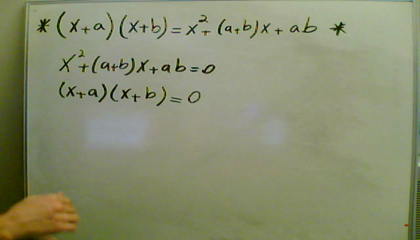 Quadratic Zeros and Factors
