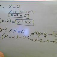 Constructing a Quadratic