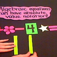 Absolute Value in Equations