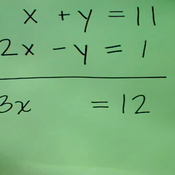 Addition and Subtraction of Linear Equations