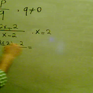 Undefined Algebraic Fractions