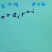 Finding the Nth Term Geometric