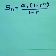 Finding the Sum Geometric