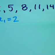 Finding an Arithmetic Formula