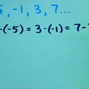 Determine if a Series or Sequence is Arithmetic