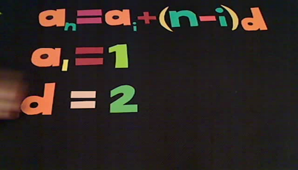 Finding the Nth Term Arithmetic
