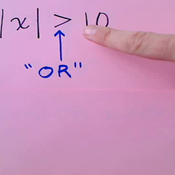 Absolute Value Inequality Types
