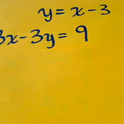 Simultaneous Linear Equations with Infinite Solutions
