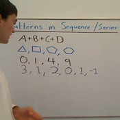 Establishing a Pattern in a Series or Sequence