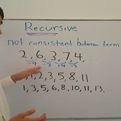 Recursive Series and Sequences