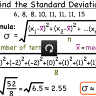 How to find Standard Deviation