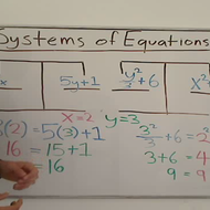 Simultaneous Equation Solutions