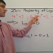 Zero Property of Logarithms