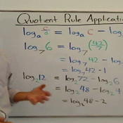 Applying the Quotient Property