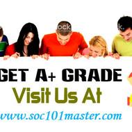 SOC 101 MASTER Real Education Real Results/soc101masterdotcom