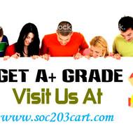 SOC  203  CART Real Education Real Results/soc203cartdotcom