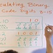 Calculating Binary Code 8-15