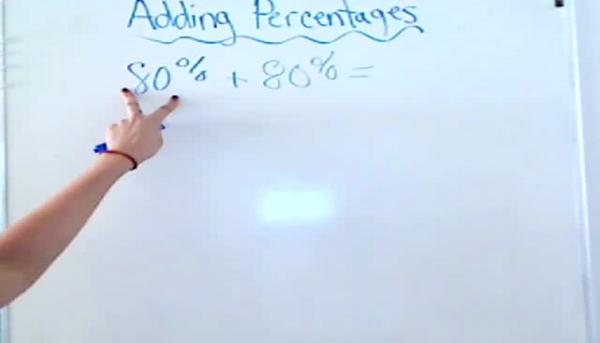 Adding Percentages