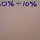 Dividing Percentages