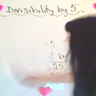 Determining Divisibility by 5