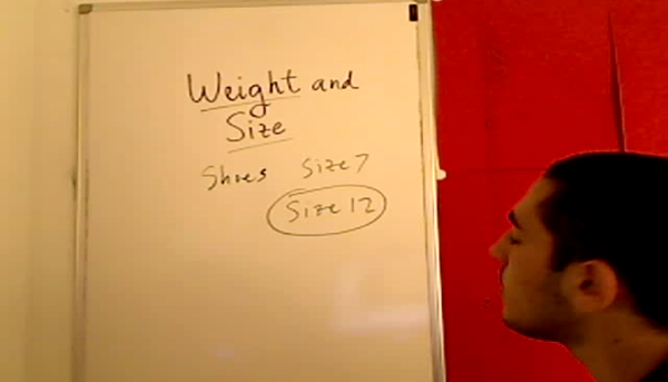 Weight and Size