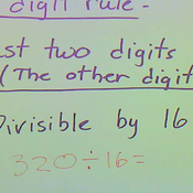 Determining Divisibility by 16