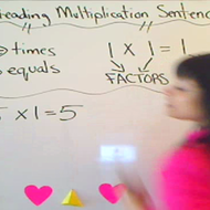 Reading Multiplication Sentences