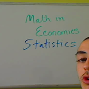 Math in Economics