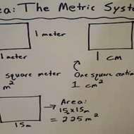 Area in the Metric System