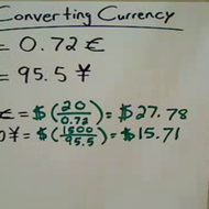 Relating Foreign Currency