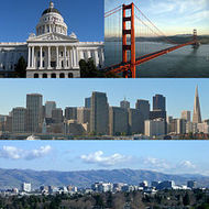 The Four Regions of California