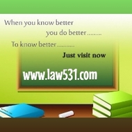 LAW 531 Course Experience Tradition / law531.com