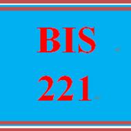 BIS 221 BIS221