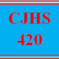 CJHS 420 CJHS420
