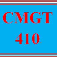 CMGT 410 CMGT410
